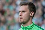 15.04.2018, Weser Stadion, Bremen, GER, 1.FBL, Werder Bremen vs RB Leibzig, im Bild<br /> <br /> <br /> Sebastian Langkamp (Werder Bremen #15)<br /> Foto &copy; nordphoto / Kokenge