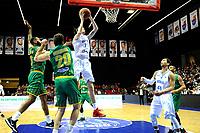 GRONINGEN - Basketbal , Donar - Petrolina AEK, Europe Cup, seizoen 2018-2019, 30-01-2019,  Donar speler Grant Sitton score