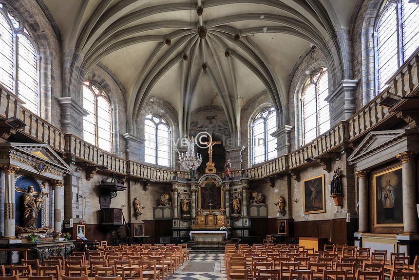 France, Jura (39), Salins-les-Bains, chapelle Notre-Dame-Libératrice  // France, Jura, Salins les Bains, Notre Dame de la Liberatrice chapel