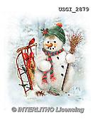 GIORDANO, CHRISTMAS SANTA, SNOWMAN, WEIHNACHTSMÄNNER, SCHNEEMÄNNER, PAPÁ NOEL, MUÑECOS DE NIEVE, paintings+++++,USGI2879,#X# ,#161#