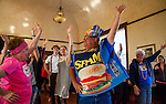 The 18th Annual SPAM Festival was held at Peter's Steakhouse in Isleton, California on Saturday February 27, 2016.  This annual festival had a cooking contest, SPAM toss, SPAM eating contest and dancing.  Photos/Victoria Sheridan