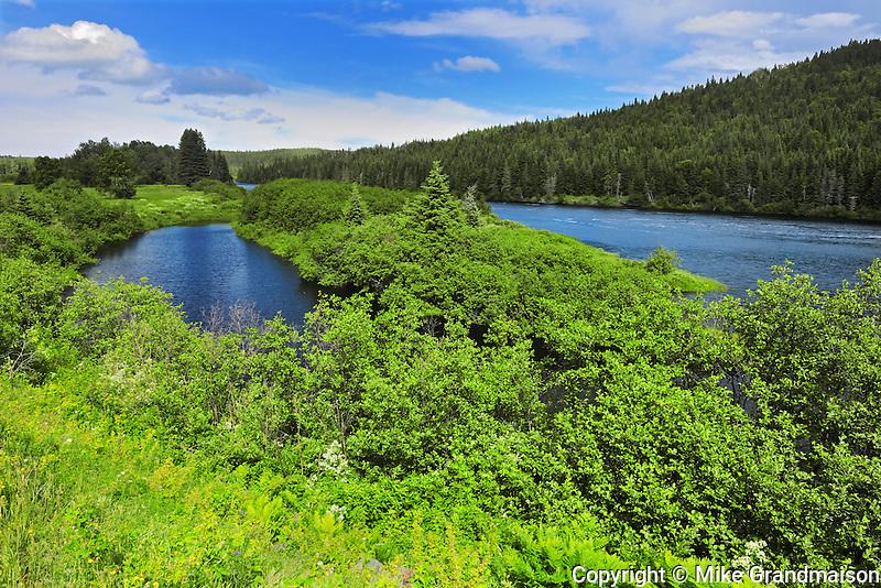 Rivi&egrave;re aux &Eacute;corces in the Laurentian Mountains<br /> Parc national des Laurentides<br /> Quebec<br /> Canada