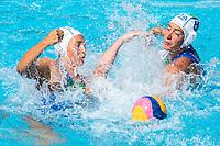 RADICCHI Federica ITA, BIANCONI Roberta ITA<br /> ITA (white cap) -  CAN (blue cap)<br /> Water Polo<br /> Day03  16/07/2017 <br /> XVII FINA World Championships Aquatics<br /> Alfred Hajos Complex Margaret Island  <br /> Budapest Hungary July 15th - 30th 2017 <br /> Photo @ Deepbluemedia/Insidefoto
