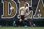 10 September 2016: Wake Forest's Hayden Partain. The Wake Forest University Demon Deacons hosted the University of Virginia Cavaliers in a 2016 NCAA Division I Men's Soccer match. Wake Forest won the game 1-0 in sudden death overtime.