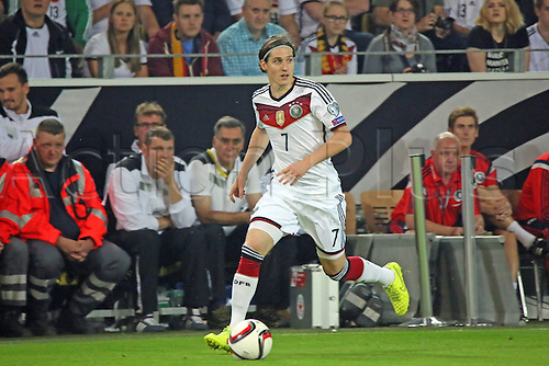 07.09.2014. Dortmund, Germany.   international match Germany Scotland  in Signal Iduna Park in Dortmund. Sebastian Rudy Germany