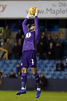 David Raya of Blackburn Rovers during Millwall vs Blackburn Rovers, Sky Bet EFL Championship Football at The Den on 12th January 2019