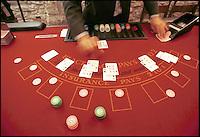 casinò, roulette, black jack, fiches