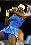 Serena Williams wins the Womens Singles Australian Open Title on day 13 of the Australian Open Tennis , 31-1-09