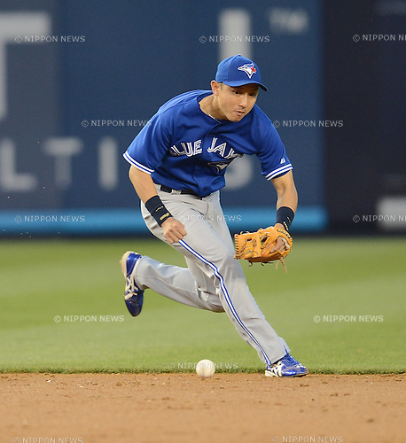 Munenori Kawasaki (Blue Jays),.APRIL 26, 2013 - MLB :.Munenori Kawasaki of the Toronto Blue Jays during the baseball game against the New York Yankees at Yankee Stadium in The Bronx, New York, United States. (Photo by AFLO)