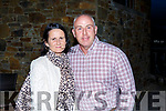 Fiona and Ger Reidy from Tralee attending the Tralee Parnells Hurling and Camogie Club race night in the Rose Hotel on Saturday.