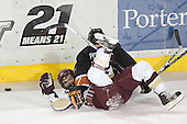 Joe Rooney, Darroll Powe - Boston College defeated Princeton University 5-1 on Saturday, December 31, 2005 at Magness Arena in Denver, Colorado to win the Denver Cup.  It was the first meeting between the two teams since the Hockey East conference began play.