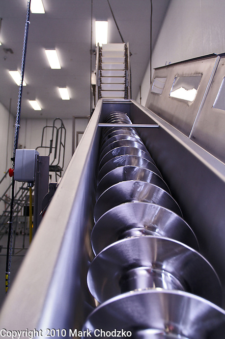 Large food grater in Castle Importing food facility.