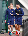 09.10.2018 Scotland training, Oriam: Steven Naismith and Robert Snodgrass