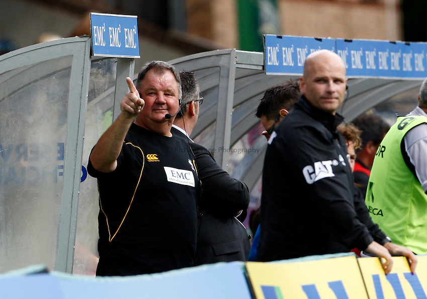 Photo: Richard Lane/Richard Lane Photography. London Wasps v Leicester Tigers. 11/09/2011. Wasps' kit manager, Malcolm Sinclair.