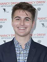 10 March 2019 - Los Angeles, California - Evan Castelloe. World Premiere of 'Nancy Drew and the Hidden Staircase' held at AMC Century City 15. Photo Credit: PMA/AdMedia