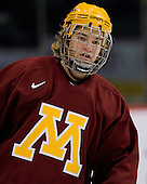 Jay Barriball (Minnesota 26) takes part in the Gophers' morning skate at the Xcel Energy Center in St. Paul, Minnesota, on Friday, October 12, 2007, during the Ice Breaker Invitational.