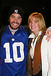 Laurie Pelphrey comes to see her son Tom Pelphrey act in the Apothecary Theater Company's production of An Evening of Don Nigro on Dec. 14 running until Dec. 20 at Theatre 54, New York City, NY. Tom Pelphrey stars with Kate Russell (was on AMC) in two acts  - 1) Wonders of the Invisible World Revealed and 2) Fair Rosamund and Her Murderer. (Photo by Sue Coflin/Max Photos)