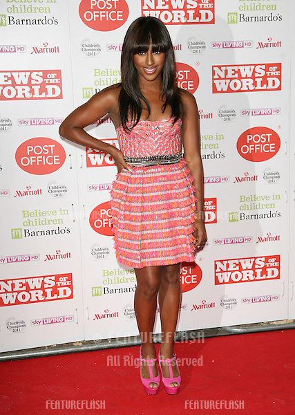 Alexandra Burke arriving for The Children's Champion Awards 2011, at the Grosvenor House Hotel, London. 30/03/2011  Picture by: Alexandra Glen / Featureflash