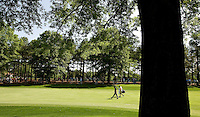 PGA golfer Phil Mickelson walks up a fairway during the 2008 Wachovia Championships at Quail Hollow Country Club in Charlotte, NC.