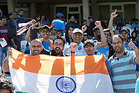 The fans out in force for India during India vs New Zealand, ICC World Cup Warm-Up Match Cricket at the Kia Oval on 25th May 2019