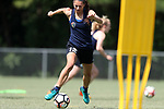 CARY, NC - JUNE 15: Ashley Hatch. The North Carolina Courage held a training session on June 15, 2017, at WakeMed Soccer Park Field 7 in Cary, NC.