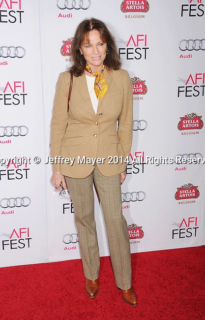 HOLLYWOOD, CA - NOVEMBER 11: Actress Jacqueline Bisset attends the 'The Homesman' premiere during AFI FEST 2014 presented by Audi at the Dolby Theater on November 11, 2014 in Hollywood, California.