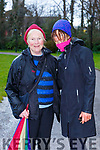 Eileen McSparron and Fidelma Creedon at The International Womens day walk in aid of Kerry Rape and Sexual Abuse Centre in Killarney National Park on Sunday