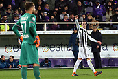 9th February 2018, Stadio Artemio Franchi, Florence, Italy; Serie A football, ACF Fiorentina versus Juventus; Federico Bernardeschi of Juventus celebrates after scoring in the 56th minute