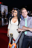 "WESTWOOD, LOS ANGELES, CA, USA - APRIL 21: Nicki Minaj, Lance Bass arrive at the Los Angeles Premiere Of Twentieth Century Fox's ""The Other Woman"" held at the Regency Village Theatre on April 21, 2014 in Westwood, Los Angeles, California, United States. (Photo by David Acosta/Celebrity Monitor)"