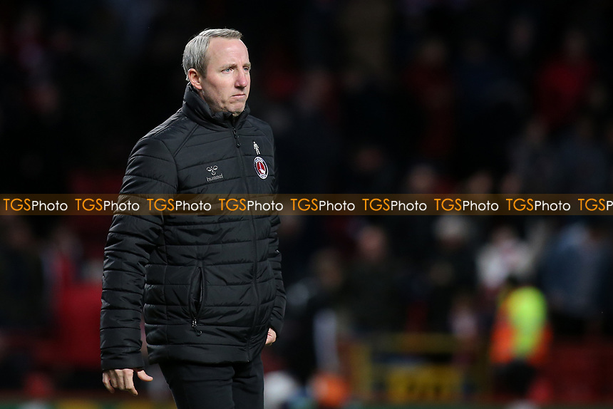Charlton Athletic Manager, Lee Bowyer during Charlton Athletic vs Barnsley, Sky Bet EFL Championship Football at The Valley on 1st February 2020