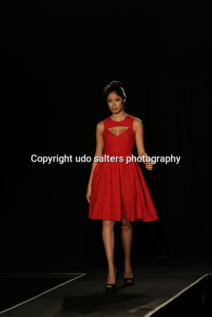 """Model Wearing Plenty by tracey reese at Hearts of Gold's 15th Annual Fall Fundraising Gala """"Arabian Nights!"""" Held at the Metropolitan Pavilion, NY 11/3/11"""