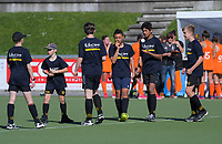 Ballkids duirng the women's National Hockey League match between Midlands and Northland at National Hockey Stadium in Wellington, New Zealand on Thursday, 20 September 2018. Photo: Dave Lintott / lintottphoto.co.nz