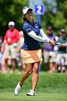 Marina Alex (USA) watches her tee shot on 2 during Saturday's round 3 of the 2017 KPMG Women's PGA Championship, at Olympia Fields Country Club, Olympia Fields, Illinois. 7/1/2017.<br /> Picture: Golffile | Ken Murray<br /> <br /> <br /> All photo usage must carry mandatory copyright credit (&copy; Golffile | Ken Murray)