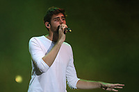 NAPOLI, ITALIA, 23.07.2017 - SHOW-ITALIA - Alvaro Soler cantor e compositor espanhol durante o festival Summer Tour na cidade de Napoli na Italia neste domingo, 23. (Foto: Salvatore Esposito/Brazil Photo Press)