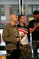 Open Day at Musique PLus  in Montreal<br /> Journne Portes Ouvertes a Musique Plus<br /> <br /> Photo : (c)  2006, Images Distribution<br /> Montreal (Qc) CANADA -  file Photo -