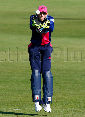 26.03.2012. Chelmsford, Essex.  .John Simpson of Middlesex County Cricket  in action during pre season Friendly match between Essex Vs Middlesex at The Ford County Ground,Chelmsford, Essex.Chelmsford, ENGLAND .......
