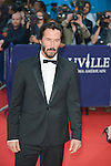 Keanu Reeves attends the 41st Deauville American Film Festival Opening Ceremony on September 4, 2015 in Deauville, France.