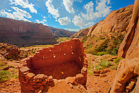 Ladder House, Navajo Reservation, Arizona, Location secret to protect archeology, Kayenta Anasazi ruin,