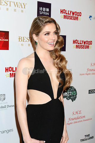 HOLLYWOOD, CA - FEBRUARY 26: Jen Lilley at the Style Hollywood Oscar Viewing Party at the Hollywood Museum in Hollywood, California on February 26, 2017. Credit: David Edwards/MediaPunch