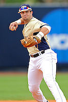 4 March 2012:  FIU infielder Mike Martinez (40) throws to first as the FIU Golden Panthers defeated the Brown University Bears, 8-3, at University Park Stadium in Miami, Florida.