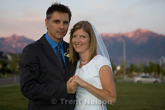 Maddie Quayle, Dave Scott wedding.Monday August 3, 2009 in South Jordan.