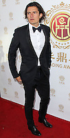 HOLLYWOOD, LOS ANGELES, CA, USA - JUNE 01: Actor Orlando Bloom arrives at the 12th Annual Huading Film Awards held at the Montalban Theatre on June 1, 2014 in Hollywood, Los Angeles, California, United States. (Photo by Xavier Collin/Celebrity Monitor)