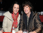 Elaine Byrne and Mary Dillon pictured at the annual game night at Dolly Mitchell's Rossin Slane. Photo: Colin Bell/pressphotos.ie