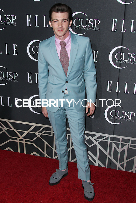 HOLLYWOOD, LOS ANGELES, CA, USA - APRIL 22: Drake Bell at the 5th Annual ELLE Women In Music Concert Celebration presented by CUSP by Neiman Marcus held at Avalon on April 22, 2014 in Hollywood, Los Angeles, California, United States. (Photo by Xavier Collin/Celebrity Monitor)