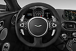 Car pictures of steering wheel view of a 2018 Aston Martin Vantage - 2 Door Coupe Steering Wheel