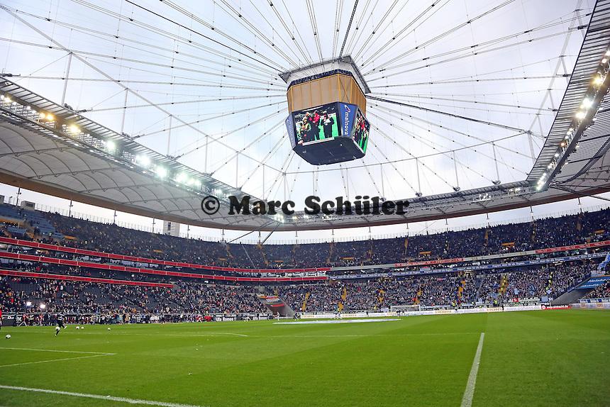 Innenraum der Commerzbank Arena - Eintracht Frankfurt vs. FC Schalke 04, Commerzbank Arena