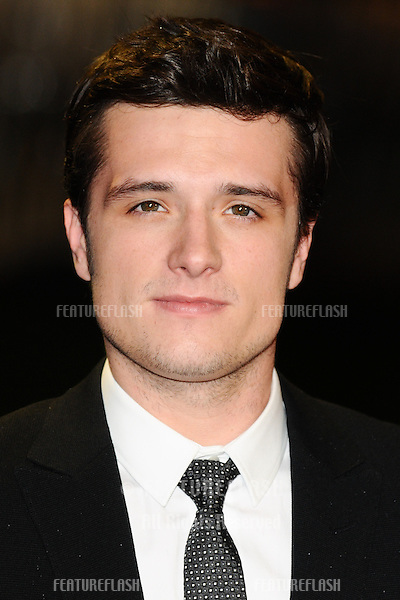 "Josh Hutcherson arriving for the World Premiere of ""The Hunger Games: Catching Fire"" in Leicester Square, London. 11/11/2013 Picture by: Steve Vas / Featureflash"