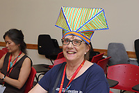 New York, NY, USA - June 24-25, 2017: OrigamiUSA 2017 Convention at St. John's University, Queens, New York, USA. Linda Musich, New York.
