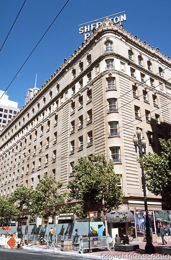 San Francisco: Palace Hotel 1909. Trowbridge & Livingston.  Photo '89.