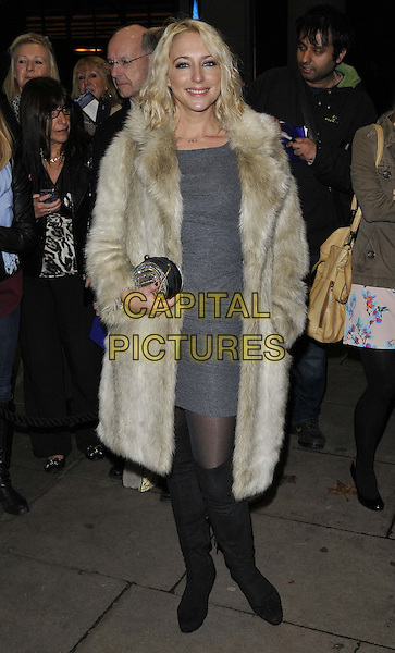 LONDON, ENGLAND - NOVEMBER 03: Ali Bastian attends the &quot;Dance 'Til Dawn&quot; press night performance, Aldwych Theatre, Aldwych, on Monday November 03, 2014 in London, England, UK. <br /> CAP/CAN<br /> &copy;Can Nguyen/Capital Pictures